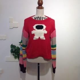 【手編み】宇宙飛行士手編みセーター