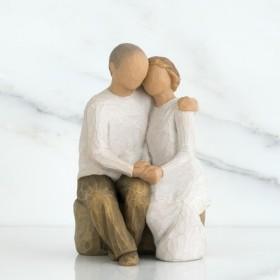 ウィローツリー彫像 Anniversary 二人の記念日 高さ15cm WillowTree 人形 置物 オブジェ ギフト 正規輸入品