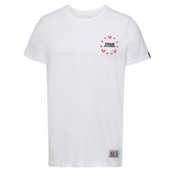 トゥルーレリジョン Tシャツ カットソー 半袖 メンズ【True Religion Printed Cotton T-Shirt】