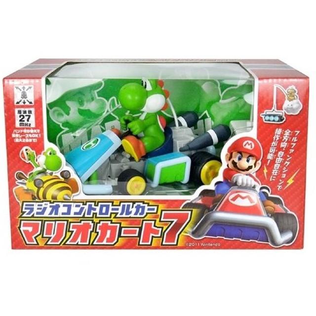 ラッピング対応可◆R/C マリオカート7 ヨッシー おもちゃ こども 子供 ラジコン 6歳 スーパーマリオブラザーズ
