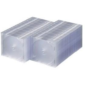 サンワサプライ DVD・CDケース(100枚セット・クリア) FCD-PU100C