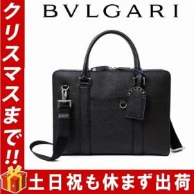 ブルガリ BVLGARI バッグ メンズ ビジネスバッグ ブリーフケース 新品 37924