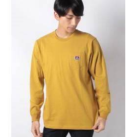【10%OFF】 マルカワ ベンデイビス 長袖 Tシャツ ポケット メンズ イエロー M 【MARUKAWA】 【セール開催中】