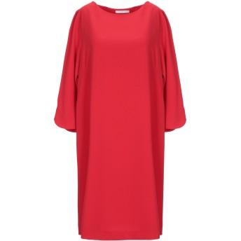 《セール開催中》PAOLA PRATA レディース ミニワンピース&ドレス レッド 42 ポリエステル 97% / ポリウレタン 3%