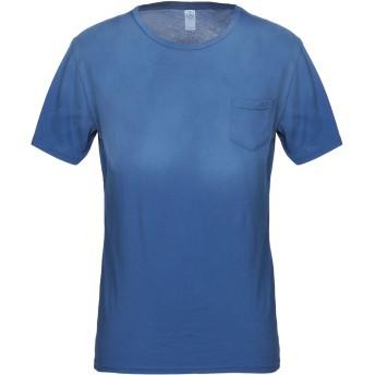 《9/20まで! 限定セール開催中》ALTERNATIVE メンズ T シャツ アジュールブルー S コットン 100%