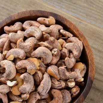 燻製 濃い味 ナッツ 渋皮 カシューナッツ 塩味 500g 送料無料