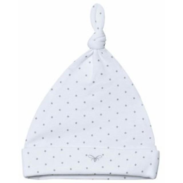 リヴリー カラー 襟 キッズ 男の子【Livly White/Silver Dots Saturday Tossie Hat】