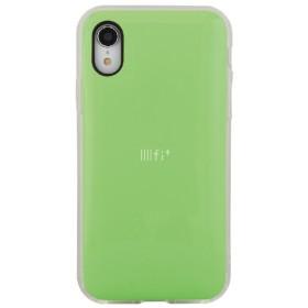 IIII fit NEO iPhoneXR対応ケース ネオグリーン
