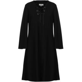 《期間限定セール開催中!》GIGUE レディース ミニワンピース&ドレス ブラック 38 ポリエステル 100%