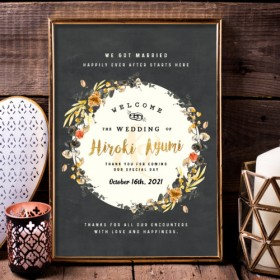 【Old Fashion】ウェルカムボード 結婚式 wedding