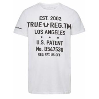 トゥルーレリジョン Tシャツ カットソー プリントTシャツ メンズ【True Religion Printed Cotton T-Shirt