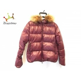 デュベティカ DUVETICA ダウンジャケット サイズ42 M レディース 美品 Adhara ボルドー 冬物        値下げ 20191010