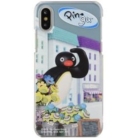 ピングー iPhoneXs/X対応ハードケース Pingu in the city