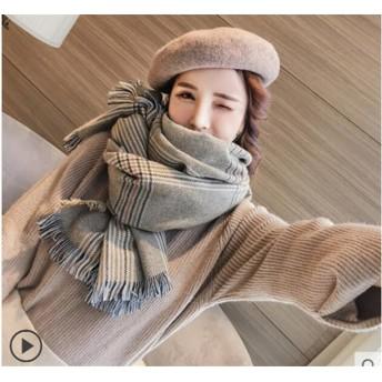 防寒・防風おすすめ! 高品質 スカーフ 女性 秋と冬 韓国 トレンド CHIC気質 学生 ショール 冷房対策に!