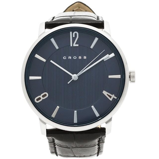 54f4bea9b9 クロス 時計 CROSS CR8052ー03 メンズ腕時計 ウォッチ ブルー 通販 LINE ...