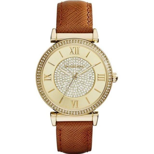 da9b91c55066 【並行輸入品】MICHAEL KORS マイケルコース 腕時計 MK2375 レディース ケイトリン シャンパンクリスタル クオーツ
