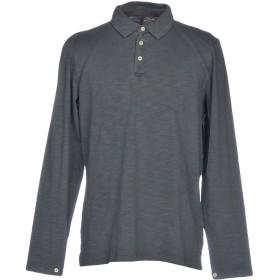 《期間限定セール開催中!》RANSOM メンズ ポロシャツ 鉛色 S コットン 100%