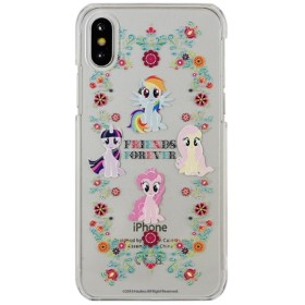 MY LITTLE PONY iPhoneX対応ハードケース FRIENDS FOREVER