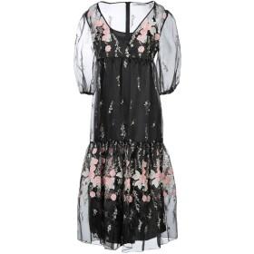 《期間限定 セール開催中》BLUGIRL BLUMARINE レディース 7分丈ワンピース・ドレス ブラック 44 ポリエステル 100%