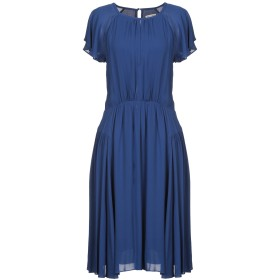 《期間限定セール中》EMMA & GAIA レディース 7分丈ワンピース・ドレス ブルー 40 100% レーヨン