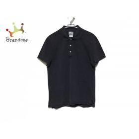 ラコステ Lacoste 半袖ポロシャツ サイズ4 XL メンズ 美品 黒 コットン   スペシャル特価 20190625