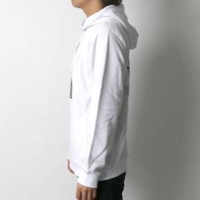 パーカー - MARUKAWA B ONE SOUL パーカー メンズ 春 裏毛 ボックス ロゴ フェイス プリント ホワイト/ブラック M/L/XL【 プルオーバープルパーカー DUCK DUDE ダックデュード ストリート カジュアル】