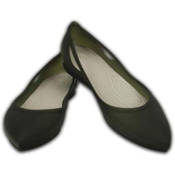 【クロックス公式】 クロックス リオ フラット ウィメン Women's Crocs Rio Flat ウィメンズ、レディース、女性用 ブラック/黒 21cm,22cm,23cm,24cm,25cm flat フラットシューズ バレエシューズ ぺたんこシューズ