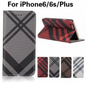 iPhone6ケース iPhone6sケース iPhoneケース iPhone6 Plusケース iPhone6s Plusケース 手帳型 スマホケース カード収納可 トライプ風