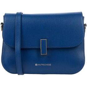 《セール開催中》L' AUTRE CHOSE レディース メッセンジャーバッグ ブルー 革 100%
