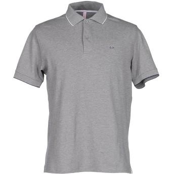 《セール開催中》SUN 68 メンズ ポロシャツ グレー S コットン 95% / ポリウレタン 5%