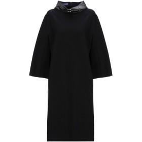 《期間限定セール中》BLUE LES COPAINS レディース ミニワンピース&ドレス ブラック 42 レーヨン 69% / ナイロン 25% / ポリウレタン 6% / コットン