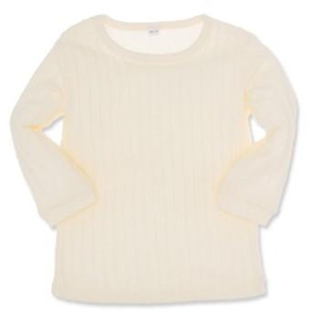 ジャガード無地長袖Tシャツ【60-70cm】[ベビー 男の子 ベビー服 アウトウェア][西松屋]