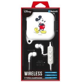 bluetooth イヤホン カナル型 Premium Style ミッキーマウスホワイト PG-BTE1SD02MKY [リモコン・マイク対応 /ワイヤレス(左右コード) /Bluetooth]