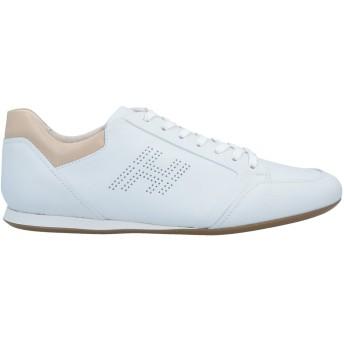 《セール開催中》HOGAN メンズ スニーカー&テニスシューズ(ローカット) ホワイト 7 革