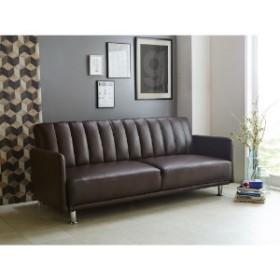 合皮のソファーベッド
