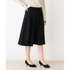 grove(グローブ) 【WEB限定サイズあり】ポンチタックフレアスカート