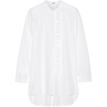 《セール開催中》ADAM LIPPES レディース シャツ ホワイト 6 コットン 100%