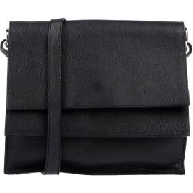 《期間限定セール中》MASSIMO REBECCHI レディース メッセンジャーバッグ ブラック 革