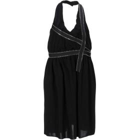 《セール開催中》EACH X OTHER レディース ミニワンピース&ドレス ブラック XL ポリエステル 95% / ポリウレタン 5%