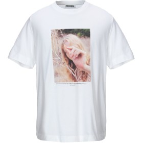 《期間限定セール開催中!》JIL SANDER メンズ T シャツ ホワイト XS コットン 100%