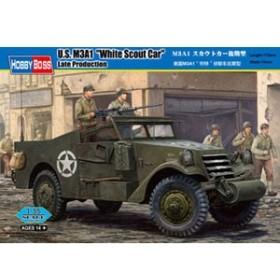 ホビーボス 【再生産】1/35 M3A1 スカウトカー後期型【82452】プラモデル 【返品種別B】