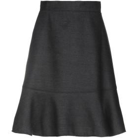 《期間限定 セール開催中》AQUILANO-RIMONDI レディース ひざ丈スカート スチールグレー 40 ポリエステル 45% / アクリル 26% / レーヨン 12% / ウール 12% / 指定外繊維 5%