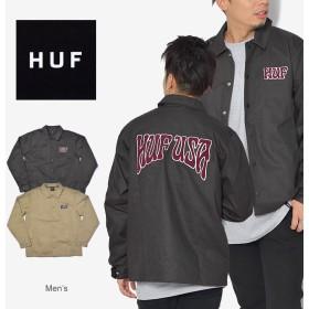 HUF ハフ ジャケット ドロップアウト コーチ ジャケット JK00110 メンズ