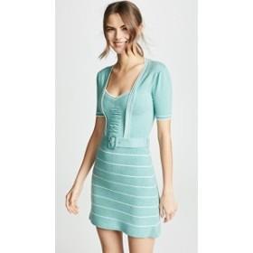 ジョーズトリコット ドレス デイドレス レディース【JoosTricot 40s Mini Dress】Vintage Jade