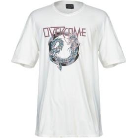 《期間限定セール開催中!》OVERCOME メンズ T シャツ ホワイト L コットン 100%