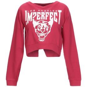 《期間限定セール中》!MERFECT レディース スウェットシャツ ガーネット M 100% コットン