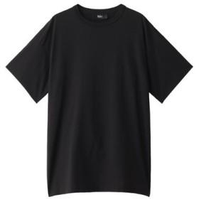 THE RERACS ザ・リラクス メンズ(MENS)オーバーサイズTシャツ ブラック