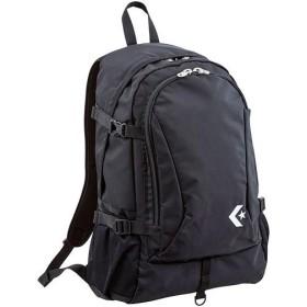 コンバース(CONVERSE) 9S Dバック LLサイズ ブラック C1903010 1900 デイパック バックパック 通学 スポーツバッグ リュック 部活