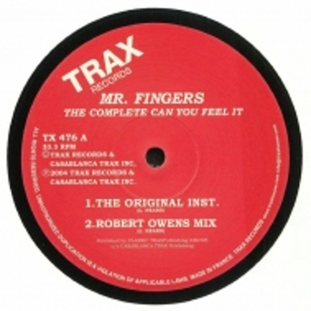 Mr Fingers/The Complete 'can You Feel It'