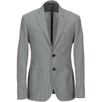 《期間限定セール開催中!》TONELLO メンズ テーラードジャケット グリーン 46 麻 50% / コットン 50%